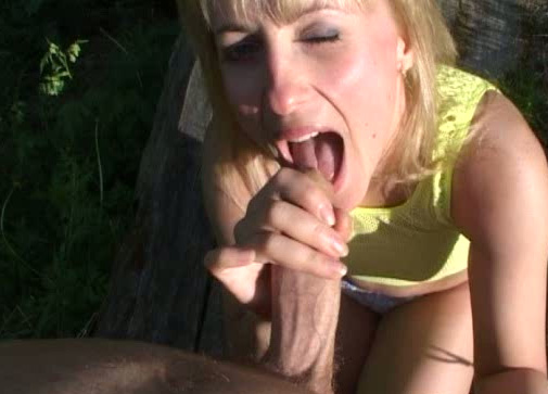 underwater forceful blowjob